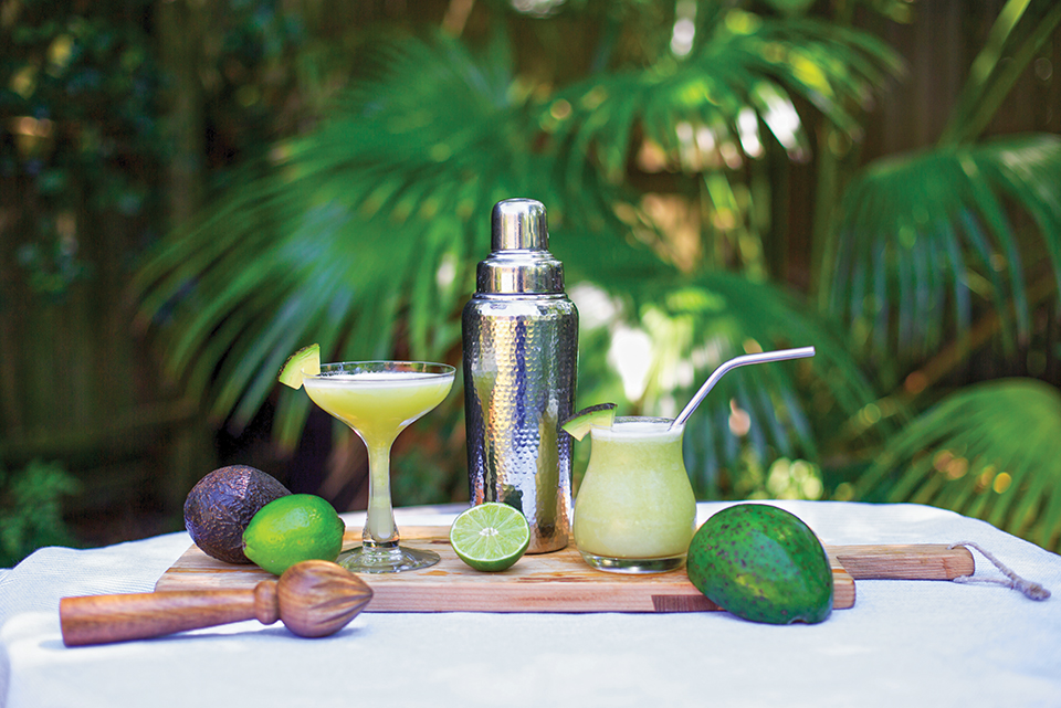Avocado Margarita; Photograph by Jessie Preza