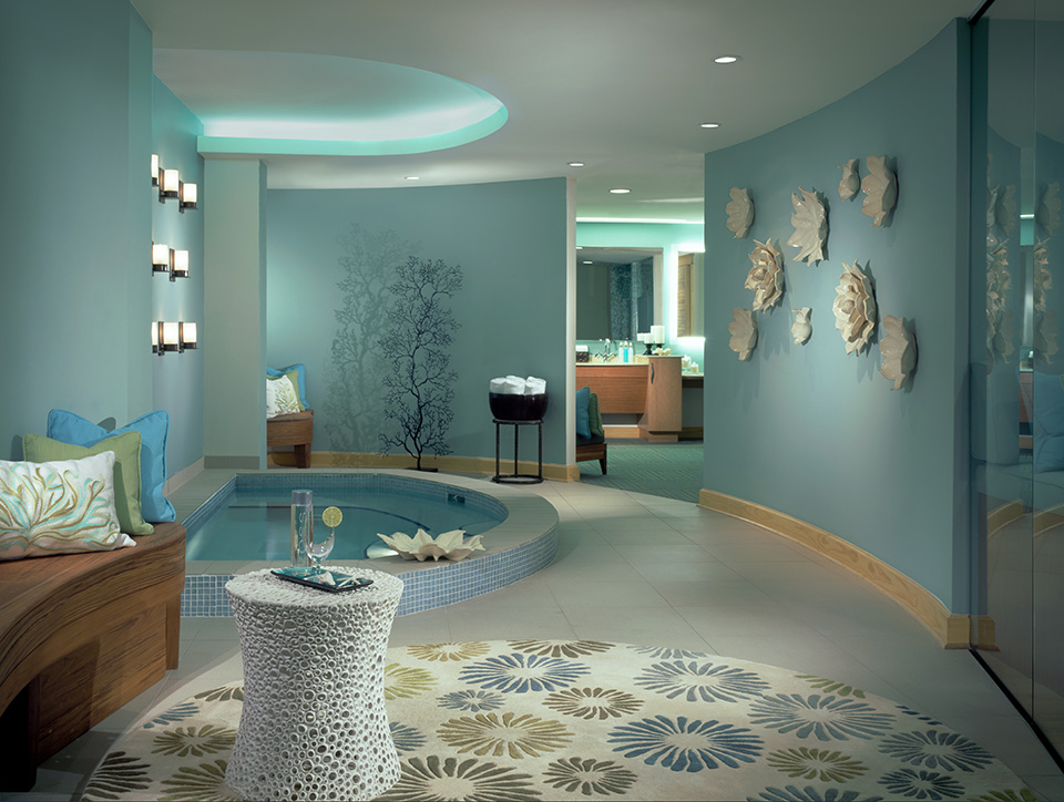 Spa One Ocean; Photography by Jeanne Bothwell