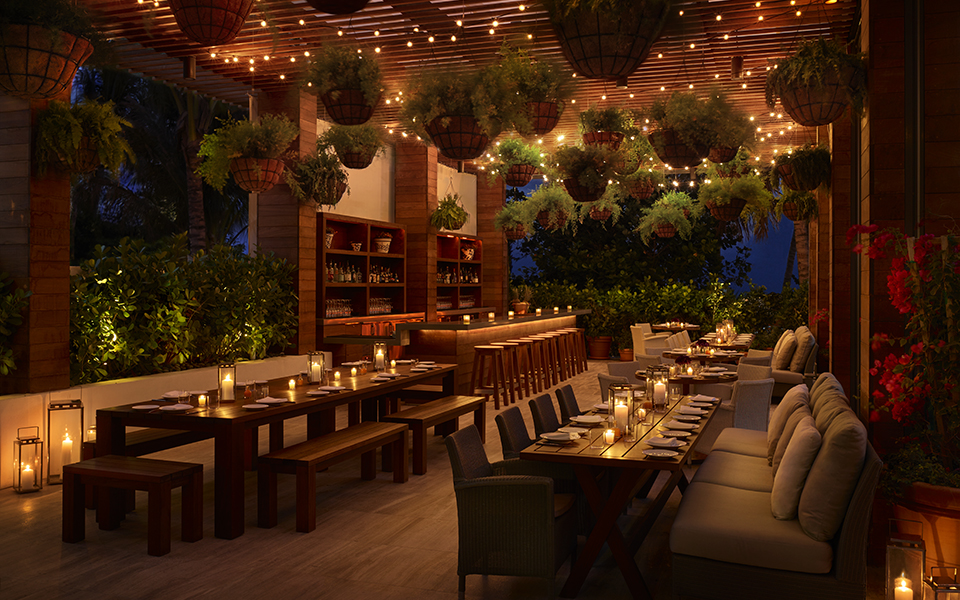 Matador terrace dining room; Photography by The Miami Beach EDITION