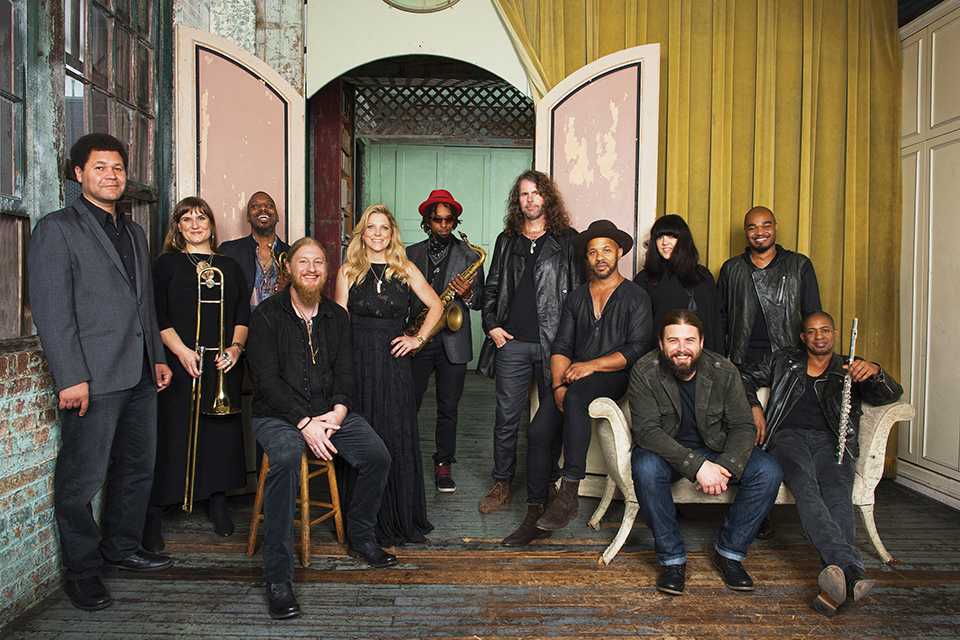 Power House At Home With The Tedeschi Trucks Band