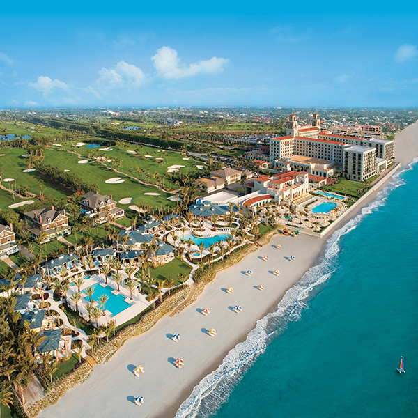 Four pools, a half mile private beach and more await at The Breakers. Photography by The Breakers West Palm