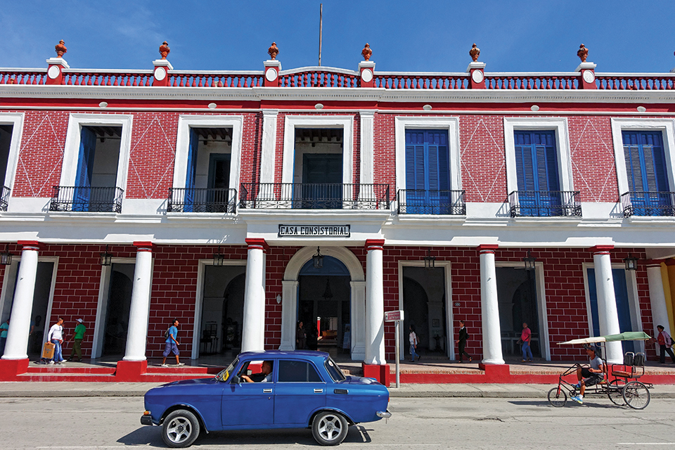 Holguin's historic Casa Consistorial; Photography by Terry Ward