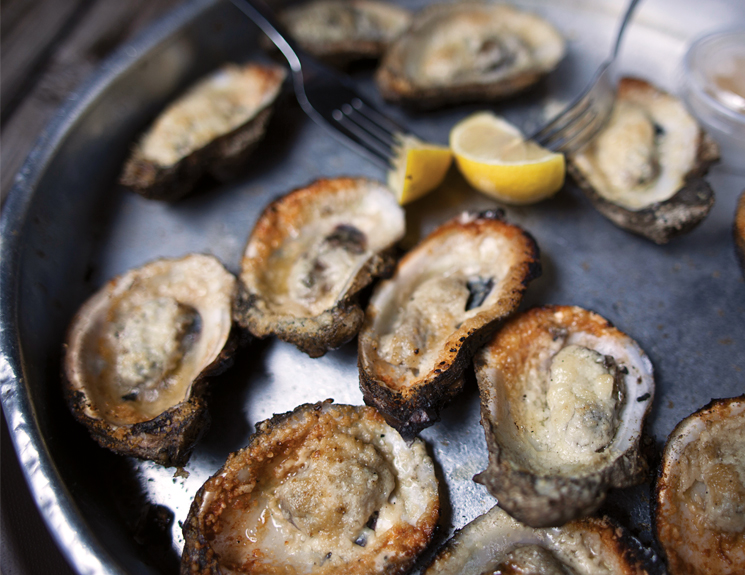 Apalachicola's world famous oysters star in the town's annual cookoff; Photography by Jeremiah Stanley
