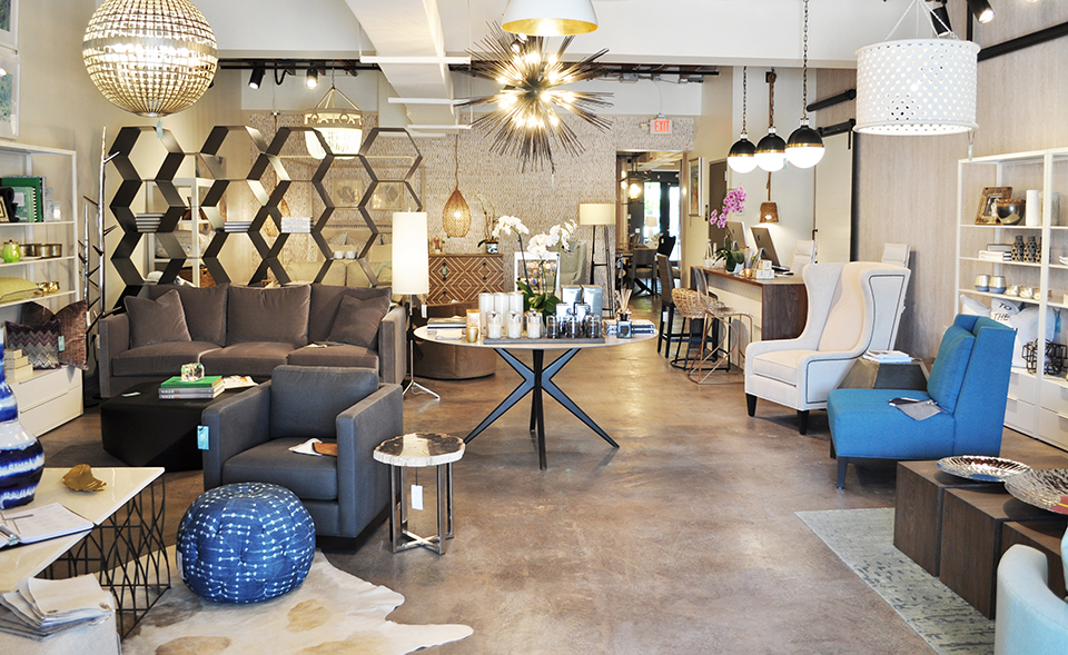 Cozy-mod furnishings at Blu Home; Photography by Blu Home
