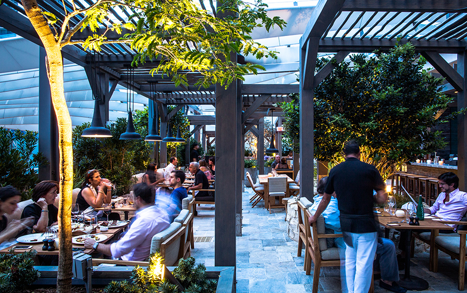 The open-air patio at Quinto La Huella is the perfect perch atop Brickell City Center's EAST Hotel. Photography by Swires Hotels