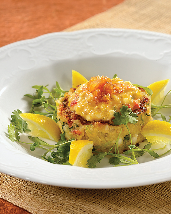 1921's Spiny Lobster Hash Cake; Photography by Debi Harbin