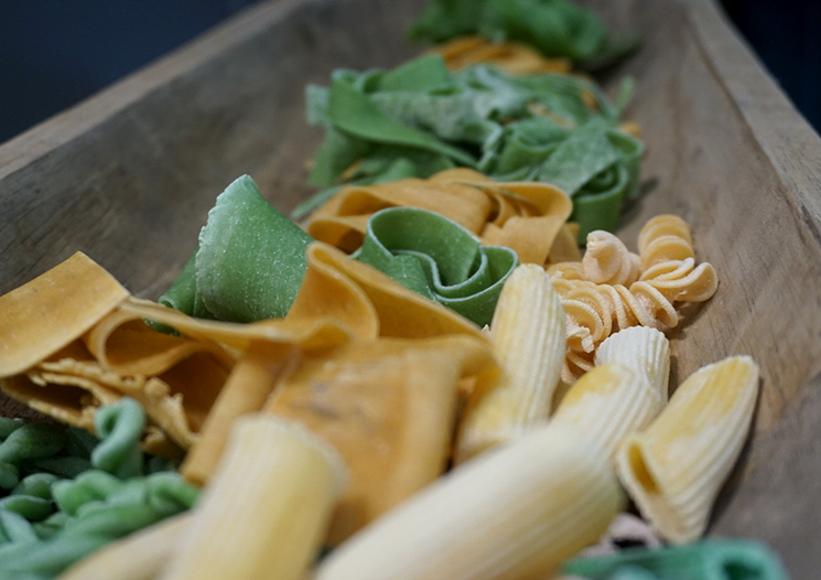 Handmade pasta by Urban Food Market Photography by Urban Food Market