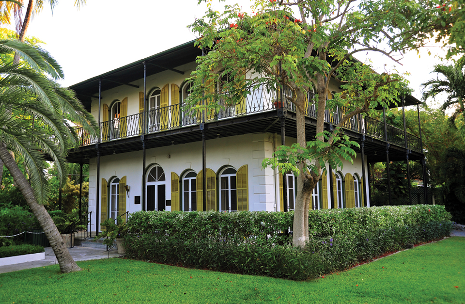 The Ernest Hemingway Home & Museum; photography Florida Keys & Key West