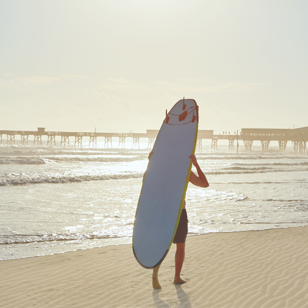 Daytona Beach didn't make the list this year, but it's still a beautiful and quite appealing place to local surfers. Photography by Adobe stock Lunamarina