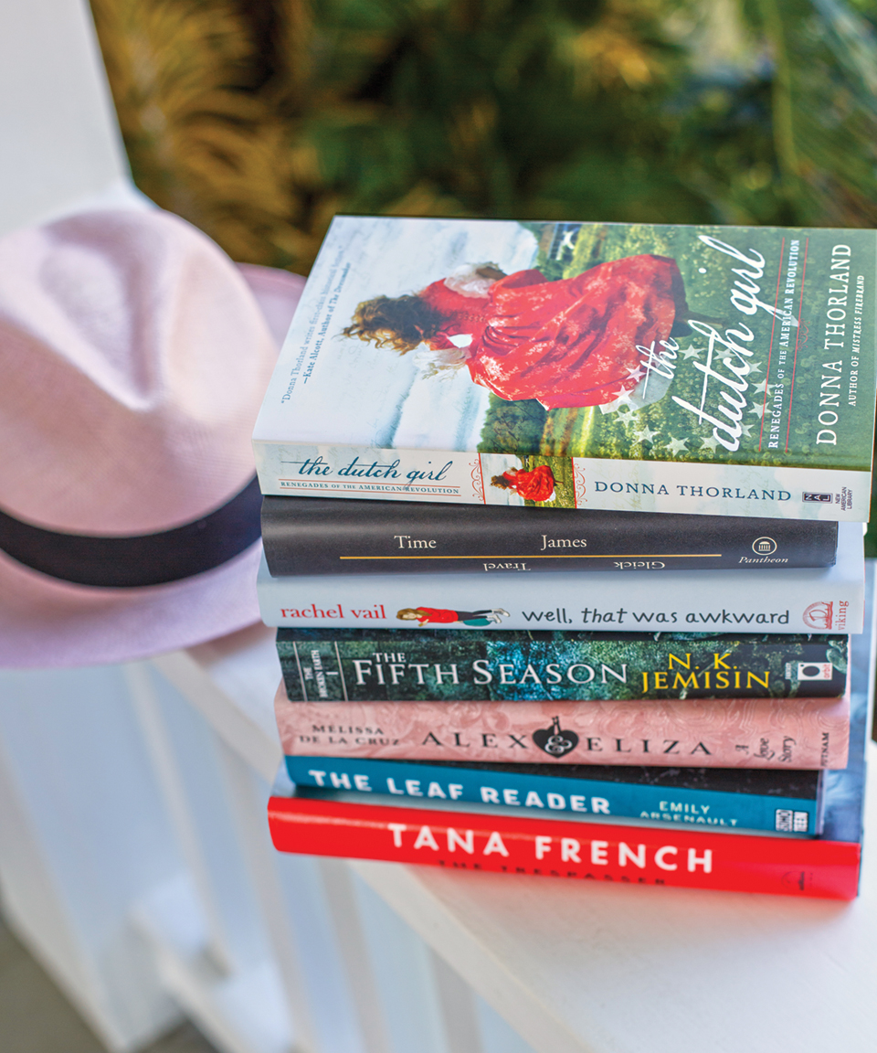 Meg Cabot's reading recommendations for a starry night or summer vacation; photo courtesy of Jessie Preza