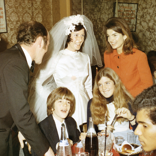 The author on her wedding day with Mrs. Kennedy; photo courtesy of Kathy McKeon