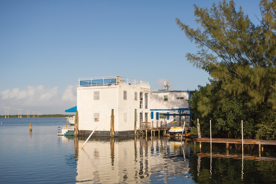 One-of-a-kind Key West floating home; Photography by Rocky Tyrone