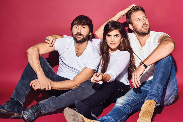 Catch Lady Antebellum performing July 27 at Daily's Place in Jacksonville; photo courtesy of Live Nation