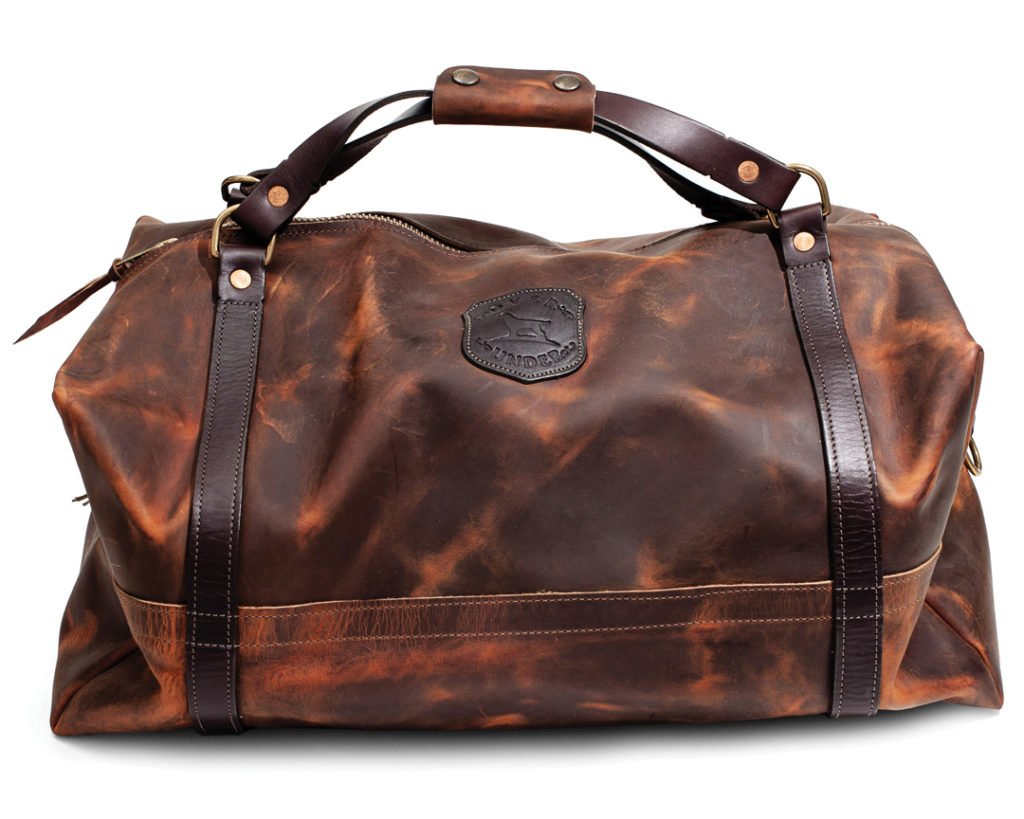 OVER UNDER CLOTHING TRADITIONAL LEATHER DUFFLE