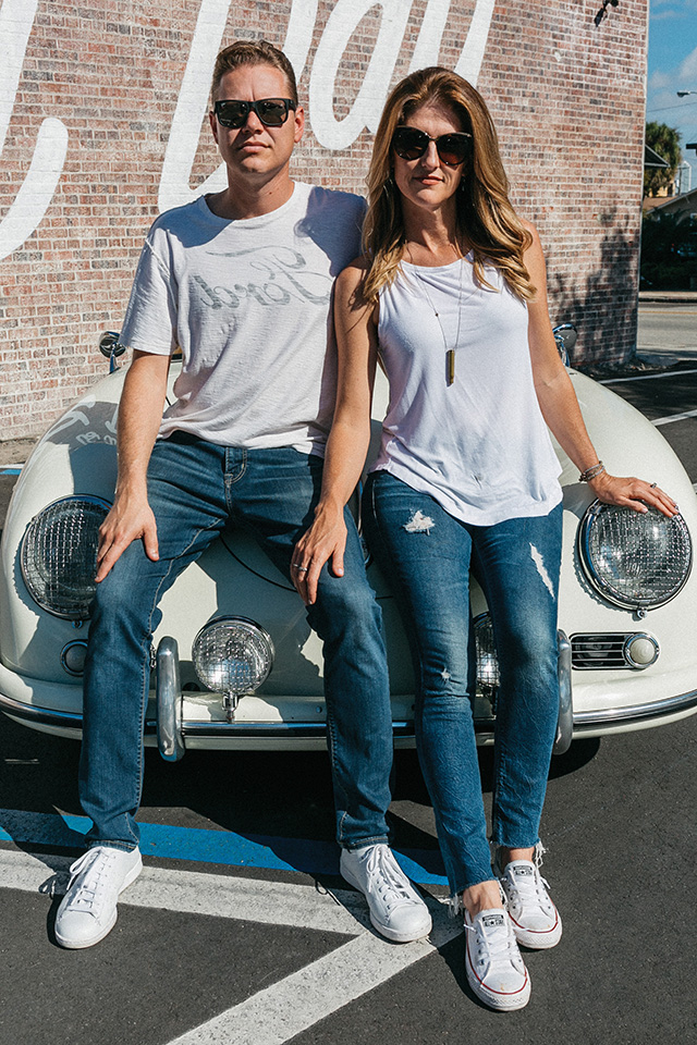 Sarasota-based Justin and Tammy Norwood are high school sweethearts and founding partners of Revvies Classics