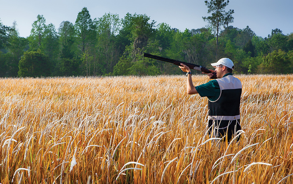 Guests can take aim at more than golf balls with clay shooting and archery.