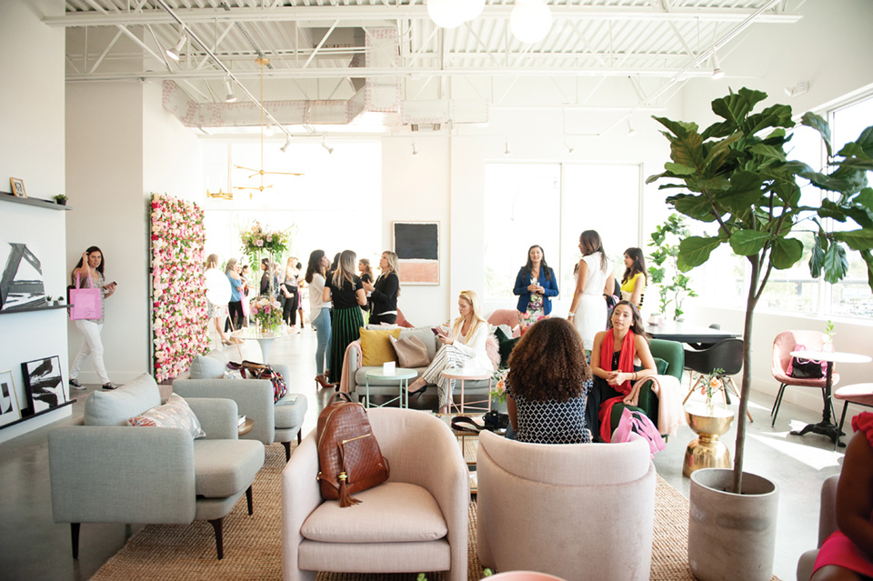South Florida women network, collaborate and create at The Emery.