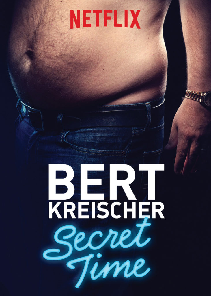 Kreischer's big break came when his comedy special Secret Time aired on Netlfix in 2018