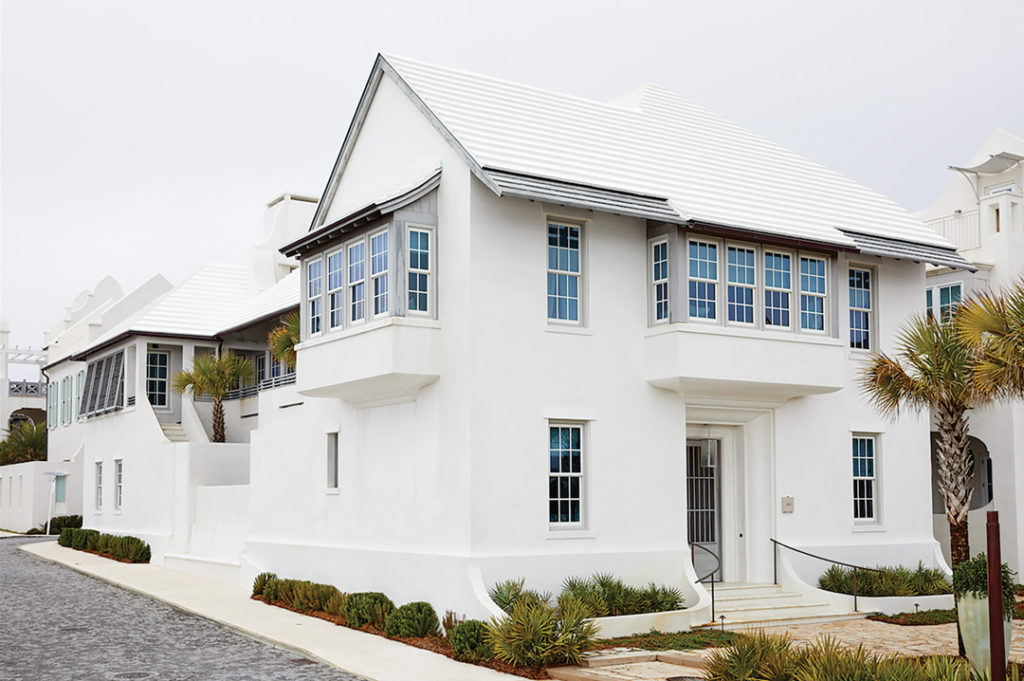 Sanford designed some of the first homes in Alys Beach