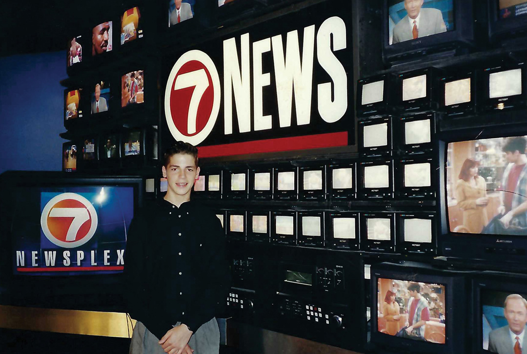 Kennedy discovered his passion for news on a fifth-grade trip to Miami's Channel 7.