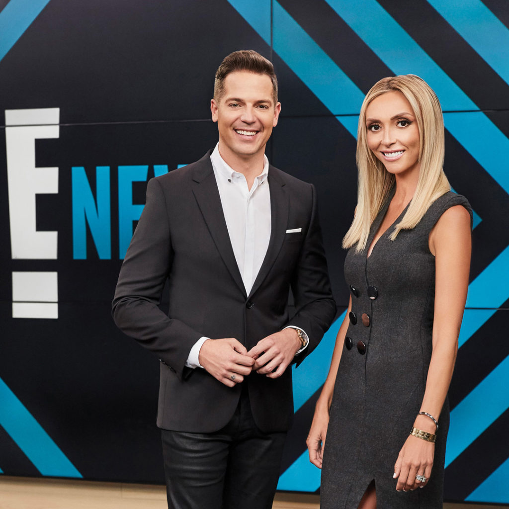 Kennedy with his E! co-host Giuliana Rancic