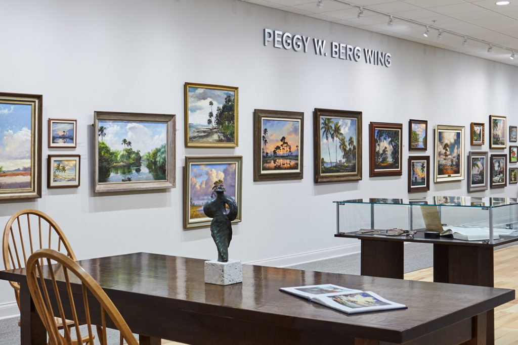 A.E. Backus Museum Peggy W berg wing