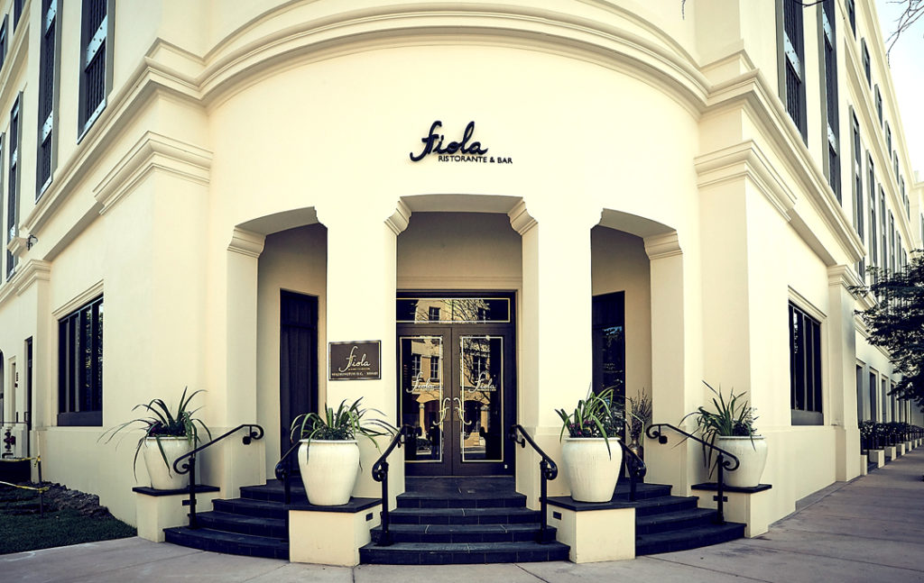 Fiola Miami is situated in the historic 1515 Sunset Building in Coral Gables