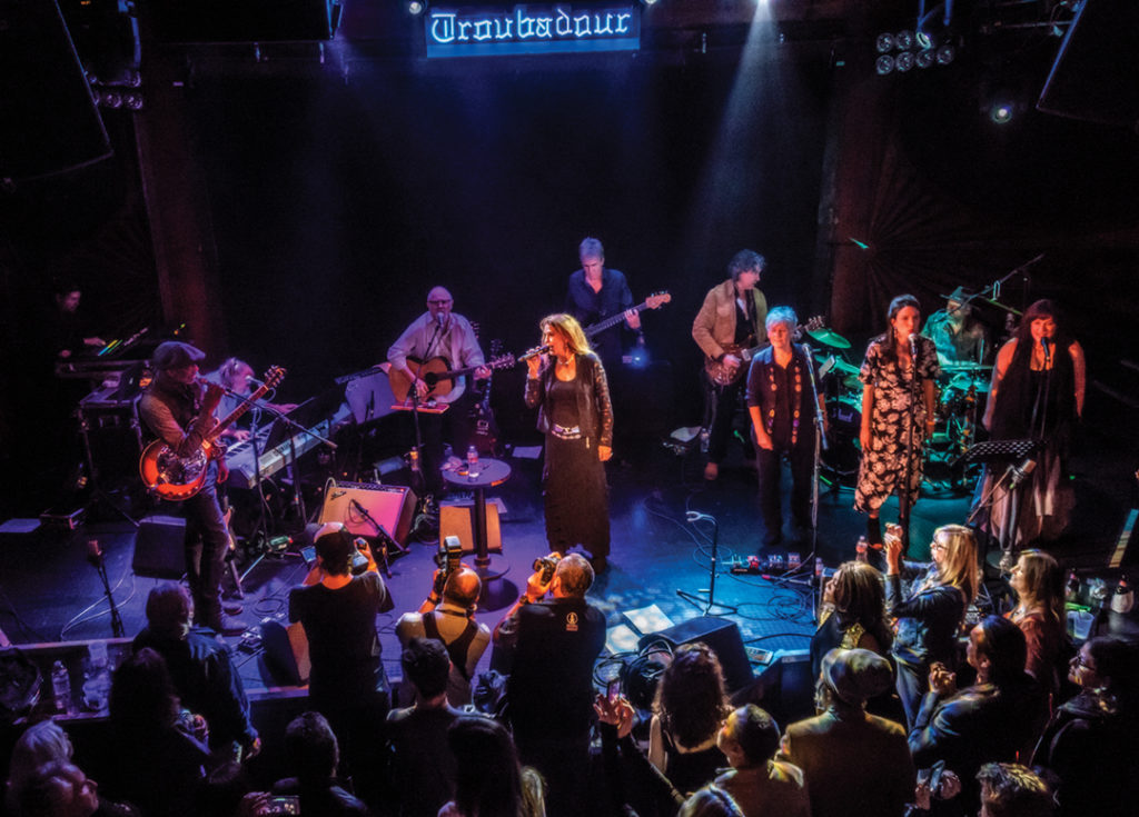 Coolidge's 2018 release concert with Keb' Mo' at the Troubadour