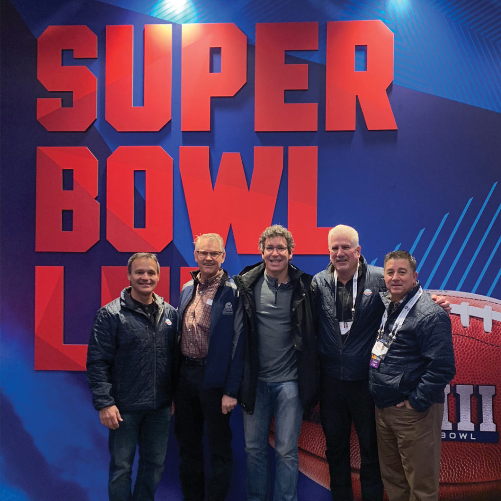 The MSBHC and partners at the Atlanta Super Bowl in 2019