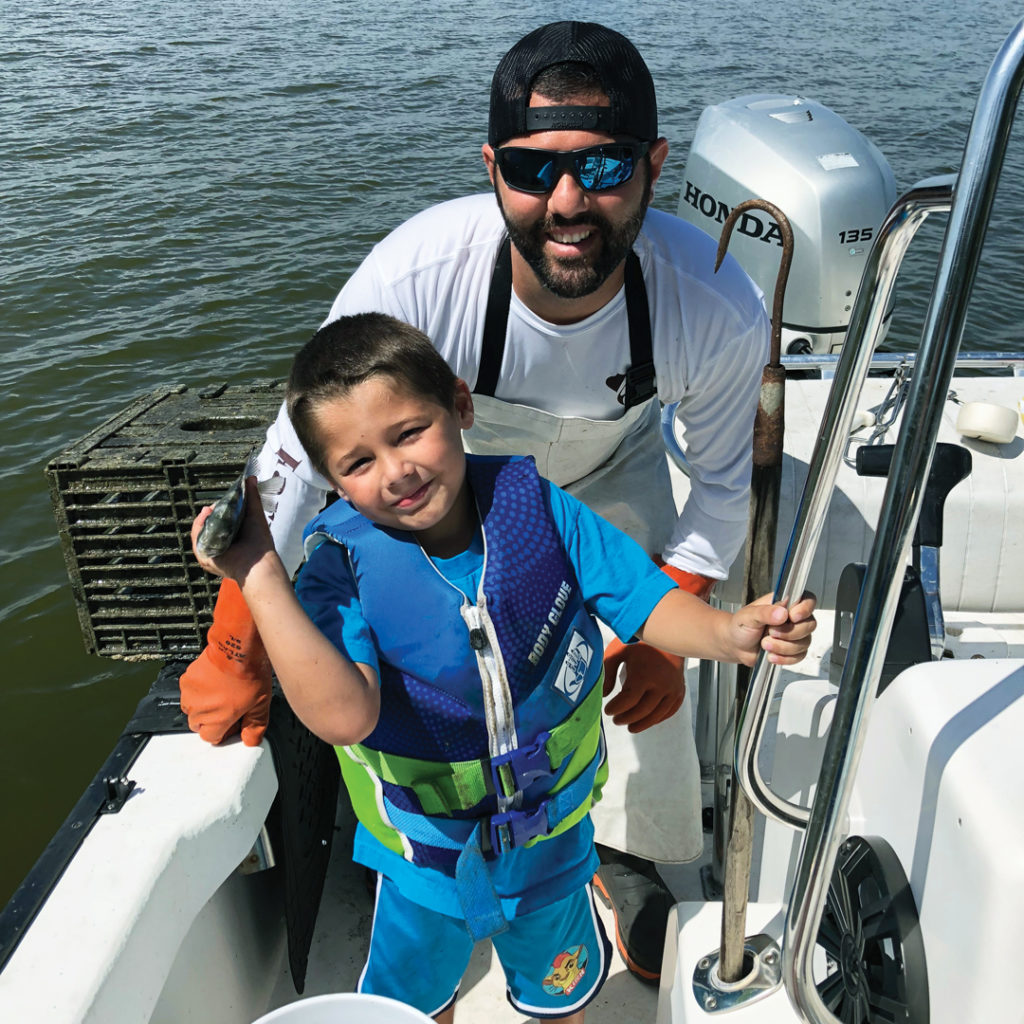anthony puleio and son fishing