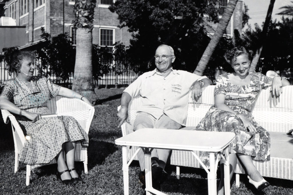President Truman at the Little White House in Key West