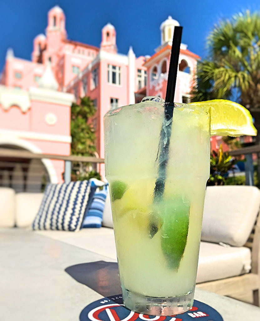 margarita in front of the Don Cesar